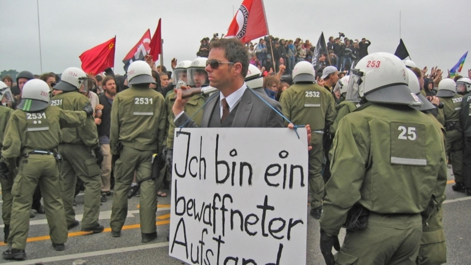 Demonstrationszug zerschlagen – welcome to Germany!